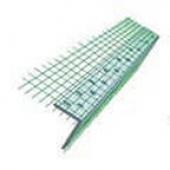 Угол пластиковый, алюминиевый со стеклосеткой (3,0 м)