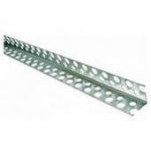 Уголок перфорированный алюминиевый (2,5 м)