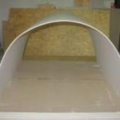 Гипсокартон арочный Кнауф (Knauf) 6,5ммХ1,20мХ3,0м
