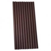 Ондулин  коричневий лист 0,95*2,00 м