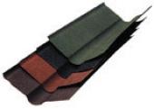 Ендова красная, коричневая/зелёная 1м