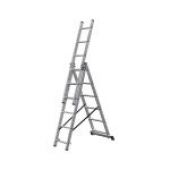 Трехсекционная лестница KRAUSE Corda 3x6 ступеней
