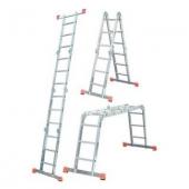 Шарнирная лестница-стремянка KRAUSE MultiMatic 4x3 ступеней