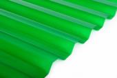 Salux HR  70/18  1,8*0.9 - зеленый прозрачный , трапеция