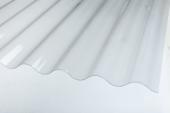 Salux W 76/18, 1,8*0.9 - прозрачный волна/трапеция