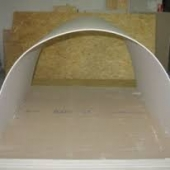 Гипсокартон арочный Кнауф (Knauf) 6,5ммХ1,20мХ2,5м