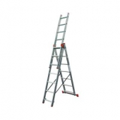 Трёхсекционная лестница KRAUSE Tribilo 3x6 ступеней