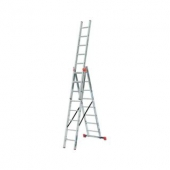 Трёхсекционная лестница KRAUSE Tribilo 3x8 ступеней