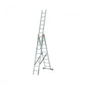 Трёхсекционная лестница KRAUSE Tribilo 3x9 ступеней