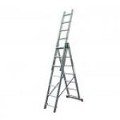 Трехсекционная лестница KRAUSE Corda 3x7 ступеней