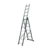 Трехсекционная лестница KRAUSE Corda 3x9 ступеней