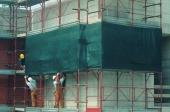 """Сетка для строительных лесов TENAX """"Ямайка"""" 2х100м"""