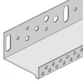 Профиль цокольный (стартовый) алюминиевый LO-53 (2,5м)