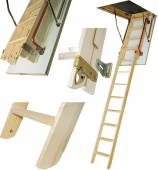 Чердачная лестница LWK-305 Fakro Komfort 70х130