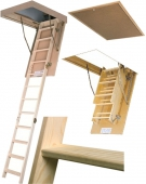 Чердачная лестница LWS-305 Fakro Smart 70х130